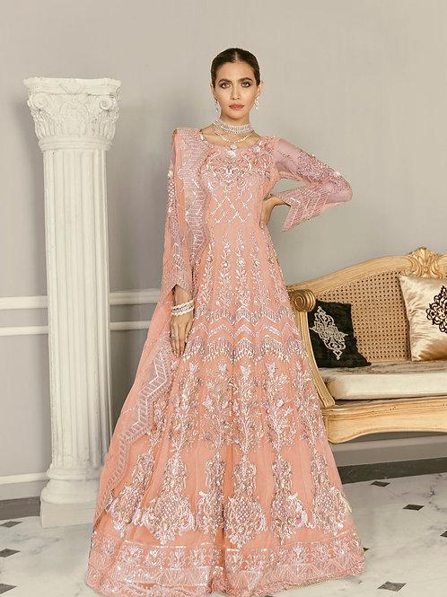 Akbar Aslam   Formal Collection 2021   Wisteria Peach