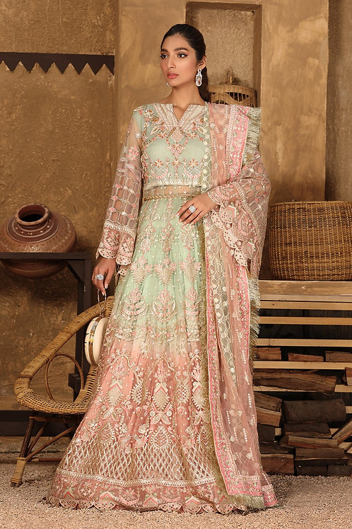 Eman Adeel | Virsa Bridal Collection '21 | 07