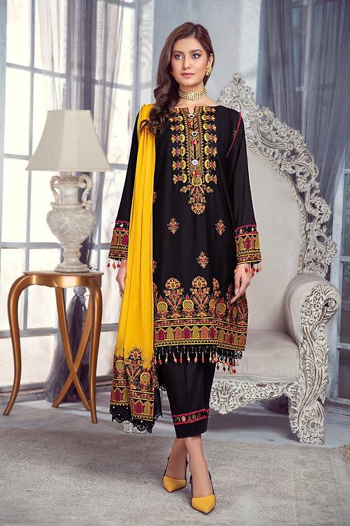 Mohagni | Zarqa Collection 2021 | -3Pc Stitched