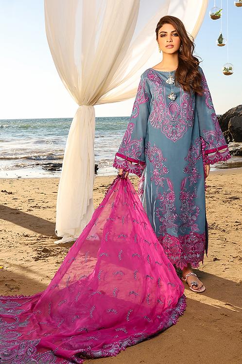 Imrozia Premium | Farben des Sommers | Blauberee-3Pc Stitched