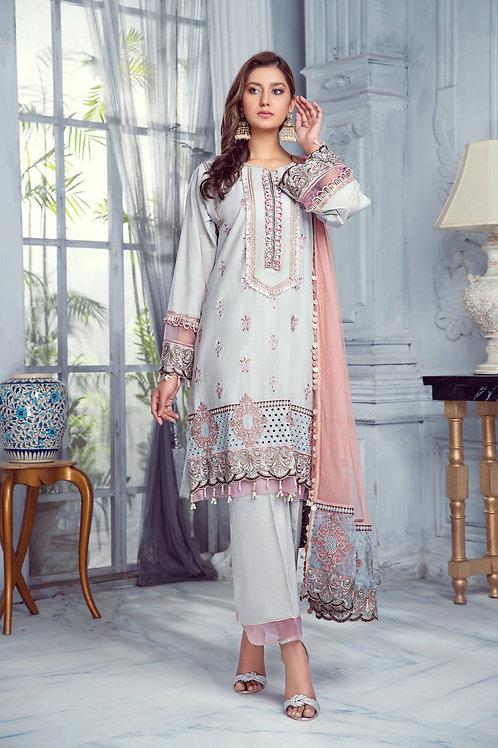Mohagni | Zarqa Collection 2021 | 06B-3Pc Stitched