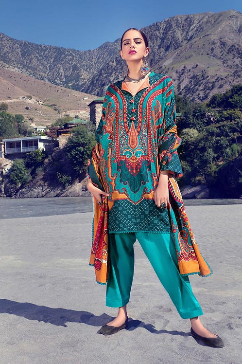 Kataan | Khaddar'20 | EthnicPaisley 3Pc