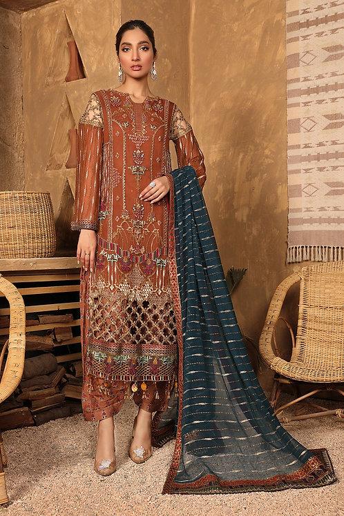 Eman Adeel   Virsa Bridal Collection '21   04