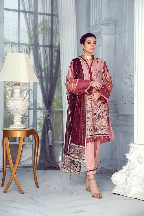 Mohagni | Zarqa Collection 2021 | 4B-3Pc Stitched