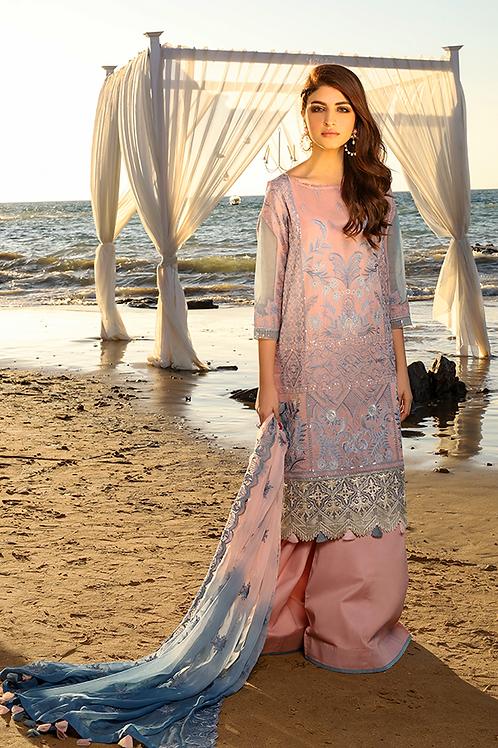 Imrozia Premium | Farben des Sommers | Tee Rosa-3Pc Stitched