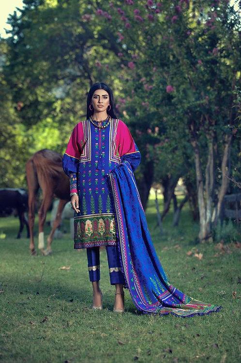 Kataan | Khaddar'20 | Mughal Dreams 3Pc