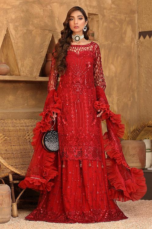 Eman Adeel | Virsa Bridal Collection '21 | 08