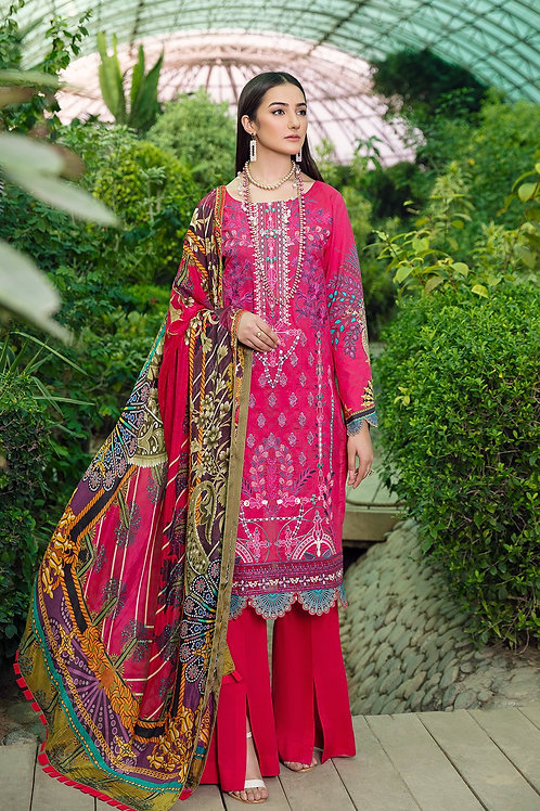 Ramsha | Chevron Collection 2021 | 08-3Pc Stitched