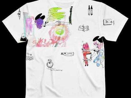 SUZURI にてTシャツ販売中!