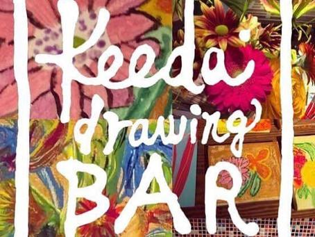 Keeda Drawing Bar『恋のバンダナを作ろう』アートワークショップ開催のお知らせ