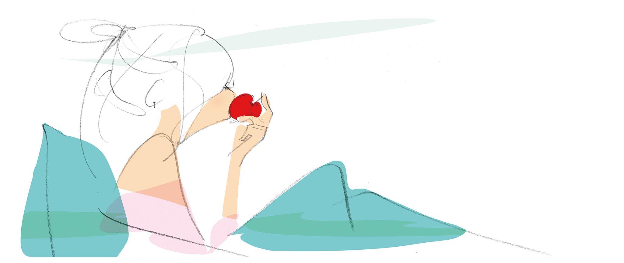 YOLOりんごラフ