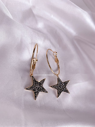 Star Act Hoops - Gold