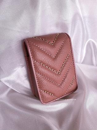 Bisou Lipstick Pouch - Beige Pink