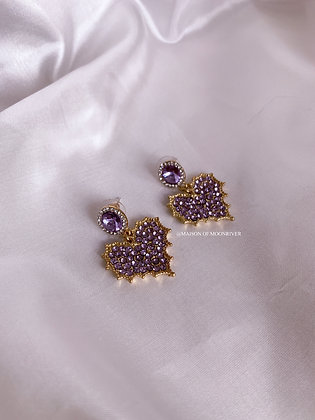 Lilac Lilly Earrings