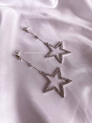 Celestial Earrings - Silver