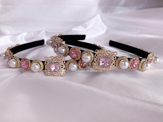 Versailles Headband Pink