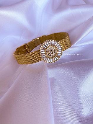 All That Glitters Initial Bracelet