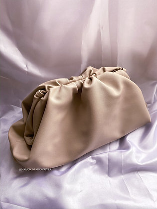Cloud Pouch Bag - Cream