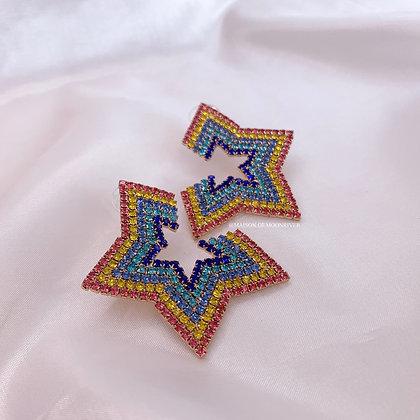 Star Struck Stud Earrings