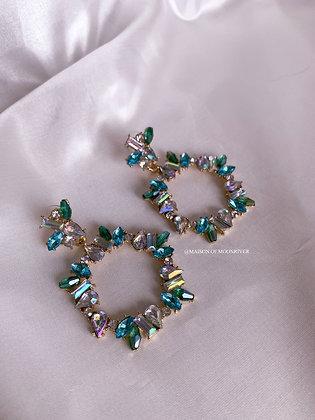 Bellatrix Earrings - Green