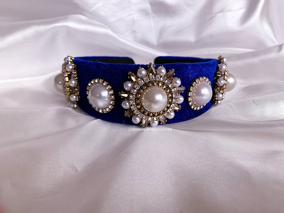 Waldorf Headband Bright Blue