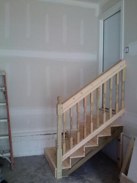 After Garage Stairs