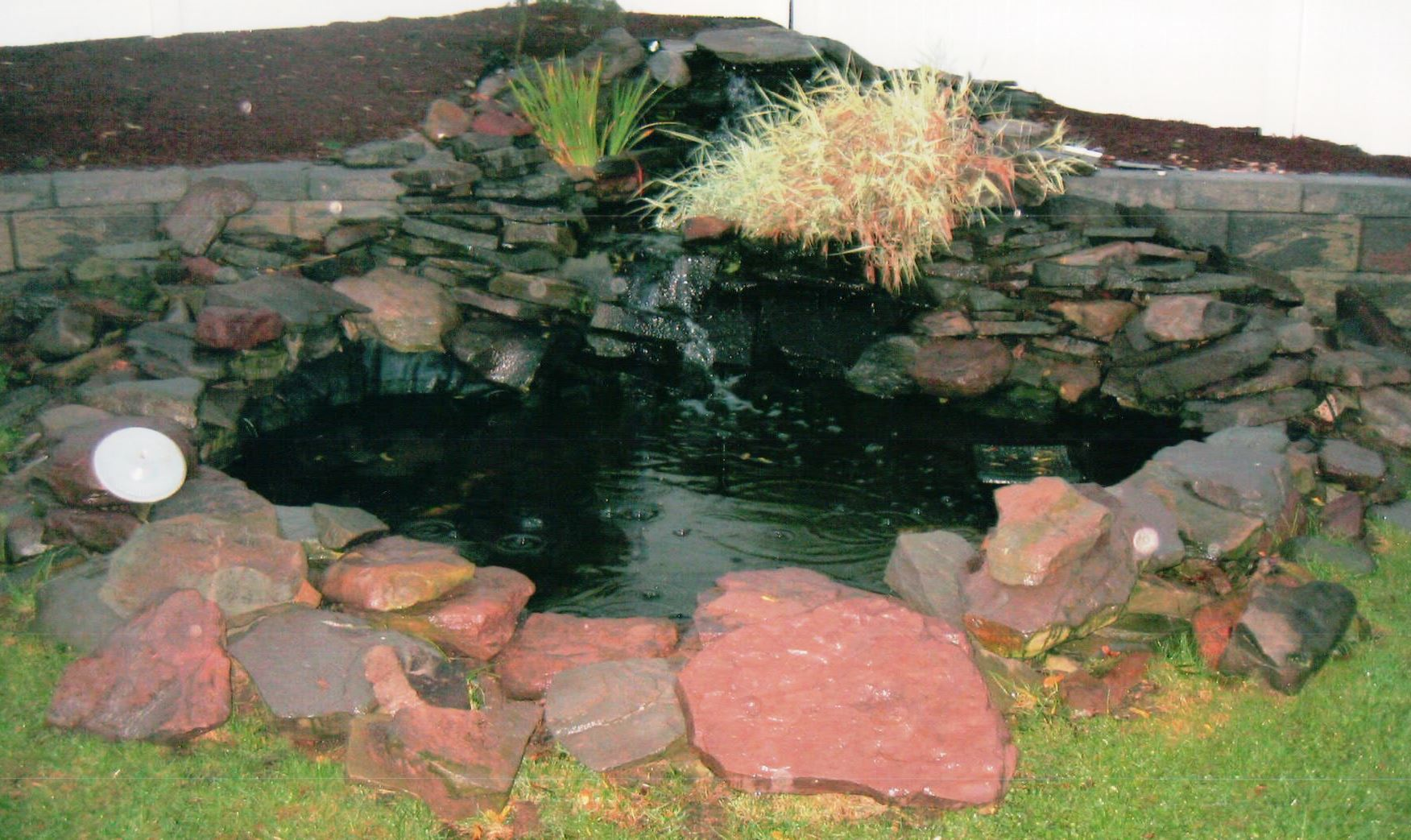 Blackfeld Fisheries Stone Work