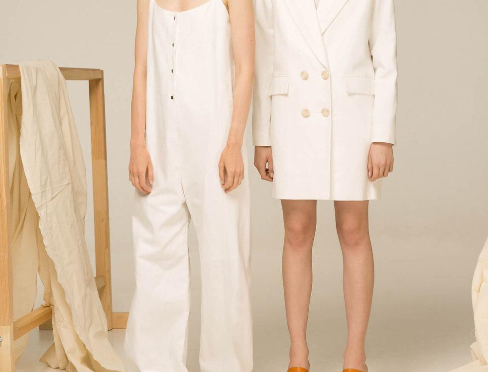 Платье-пиджак, двубортный жакет