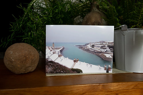 Winter Harbour - Greetings Card