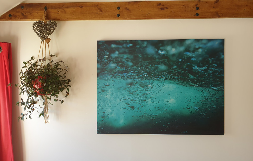 Canvas images are still on the ebest ways to showcase work on your walls at home or the office.
