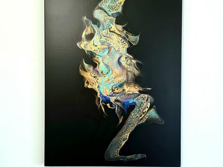 Kamel Fettous : des toiles d'art murales