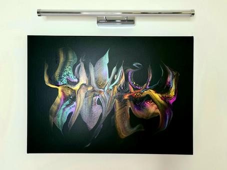 Les tableaux modernes abstraits, la mise en forme des idées