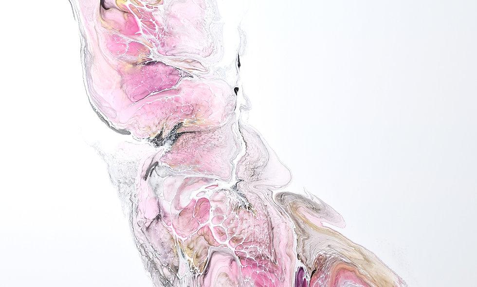 Peinture Acrylique Pouring Marseille  REF-005