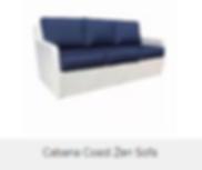 Cabana Coast Zen Sofa discounted sale price is $1095