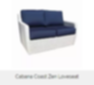 Cabana Coast Zen Loveseat discounted sale price is $759