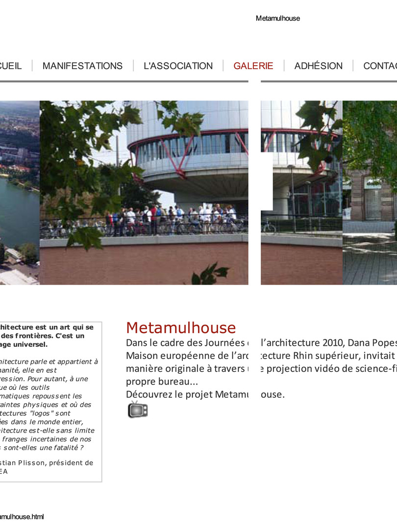 """Architecture festival """"Architecture's days"""""""