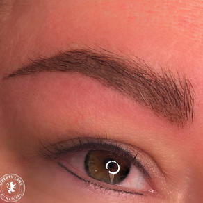 Lash Line Eyeliner + Micro-Shade Brows