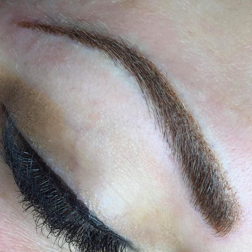 Volume Micro-Shaded Brows