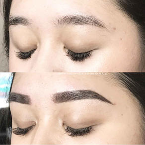 Translucent Shaded Brows