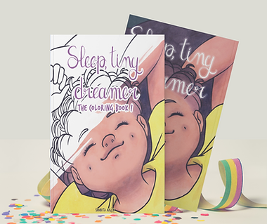 Sleep, Tiny Dreamer AND Coloring Book!