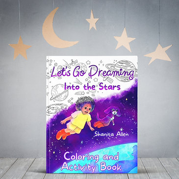 Into the Stars Coloring and Activity Book