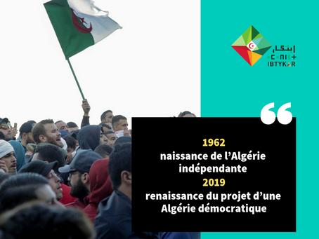 2019 : Projet d'une Algérie démocratique