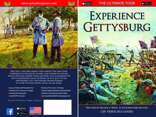 Experience Gettysburg Tour Guide Package