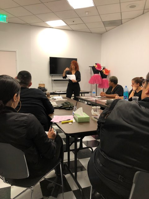 Surratt Beauty Training at the Bloomingdale's Beverly Center LA