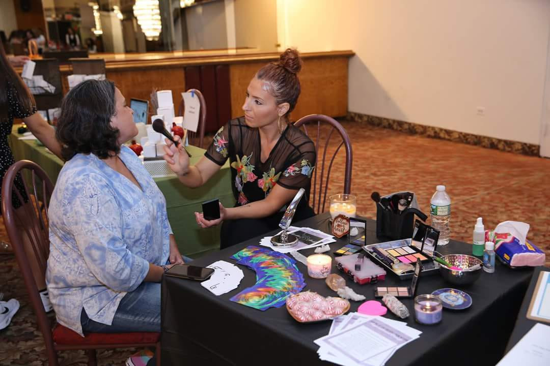 Invited to share Inspirational Beauty at a women empowerment event (Queens, NY)