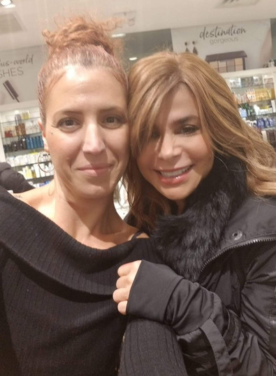 Paula Abdul: singer, songwriter, dancer, choreographer, actress and tv personality.  Makeup Matching and personal shopping.