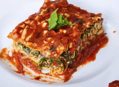Plant Based Lasagna (v, gf)