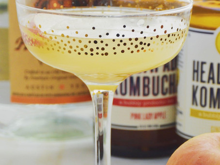 Healthy(ish) Cocktail: Boozy Booch