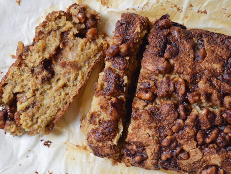 Cinnamon Crunch Banana Nut Bread (gf, df)