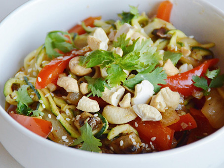 Asian Style Zoodles Recipe